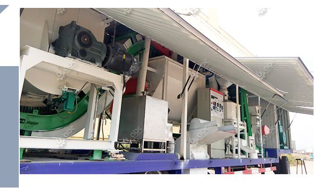 low cost mobile cattle feed milling equipment for sale
