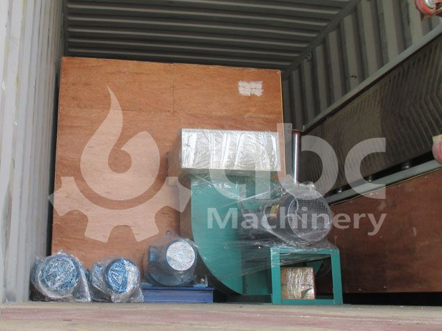 other processing equipment for biomass briquettes manufacturing
