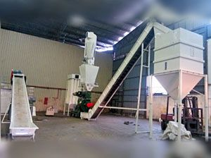 1.5TPH Palm Fiber Pellet Production Line in Malaysia