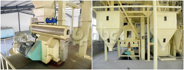 pellet feed plant project for making chicken feed pellets
