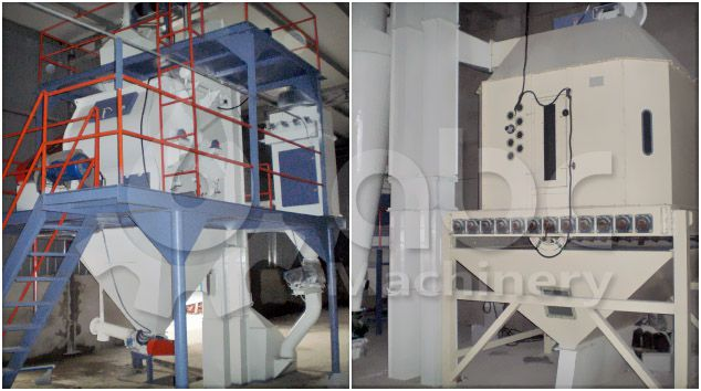 set up a large scale livestock and poultry feed milling factory