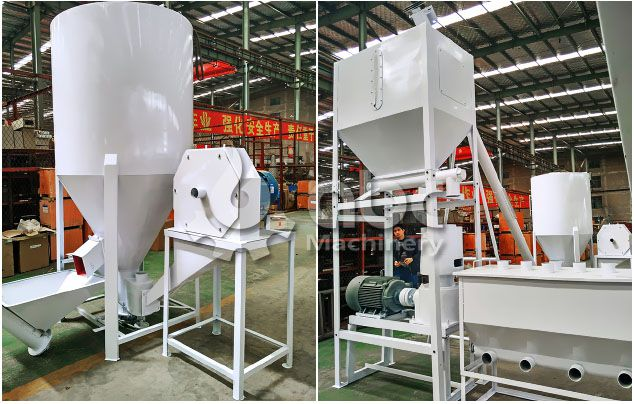 processing equipment for small poultry feed production line