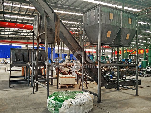Poultry Feed Pellet Production Line for 1 ton/h Processing Mill