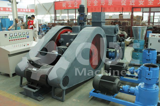 punching coconut shell briquette making machine from crop wastes