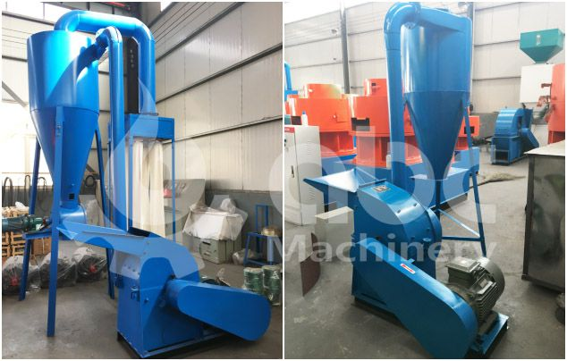 rice husk crusher for small scale pellet prodcution line