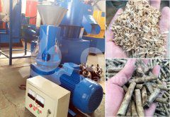 Small Set of Rice Husk Pellet Making Machine Exported to France