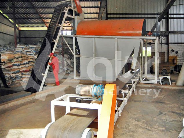 sawdust cleaning and conveying equipment