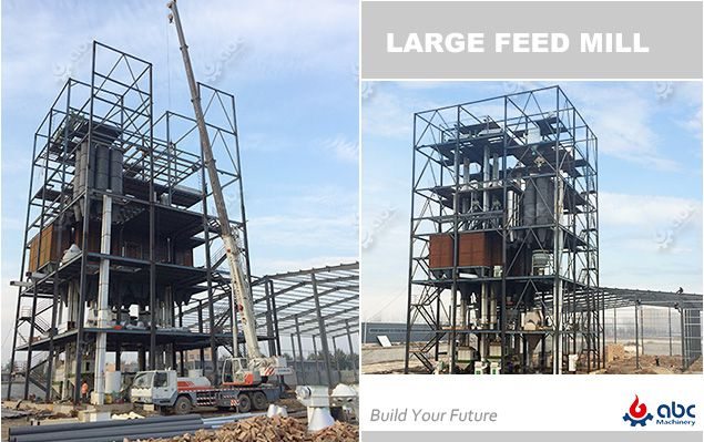 turnkey project plan for start a large feed mill business