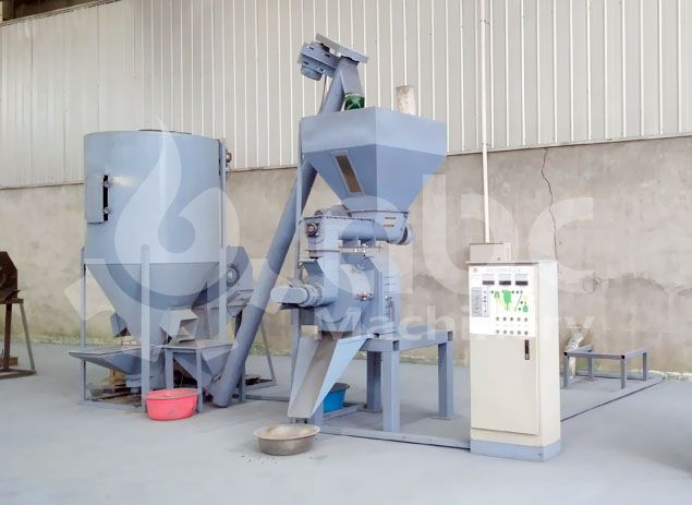 small animal feed pellet making machine for farmers
