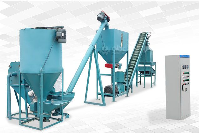small scale cattle feed pellet mill plant for making fodder pellets for livestock