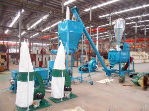1 ton/h Sheep & Cattle Feed Mill Plant