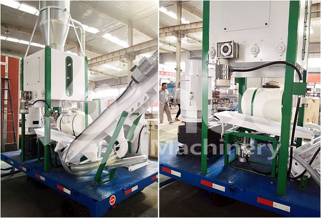 small pelleting plant equipment for small factory and company