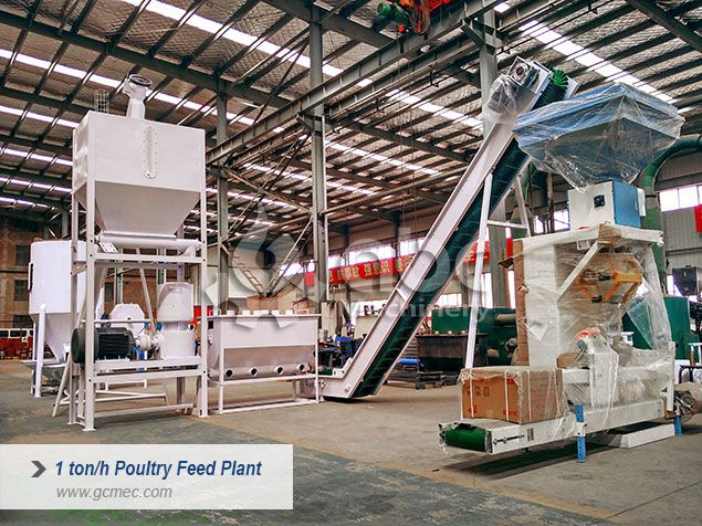 small poultry feed plant machine for sale