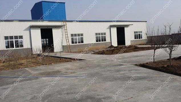 small scale feed production factory