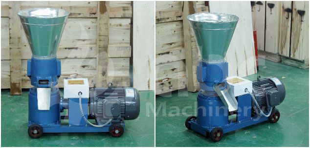 ZLSP 150B small sized wood pellet manufacturing machine for home use