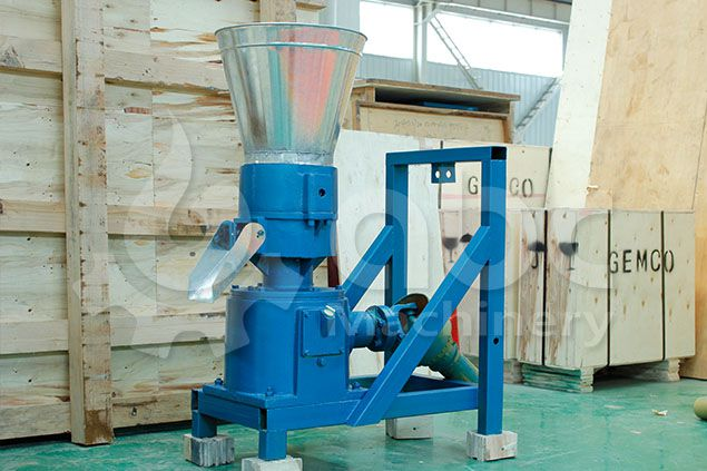 low cost tractor powdered pellet machine without engine or motor