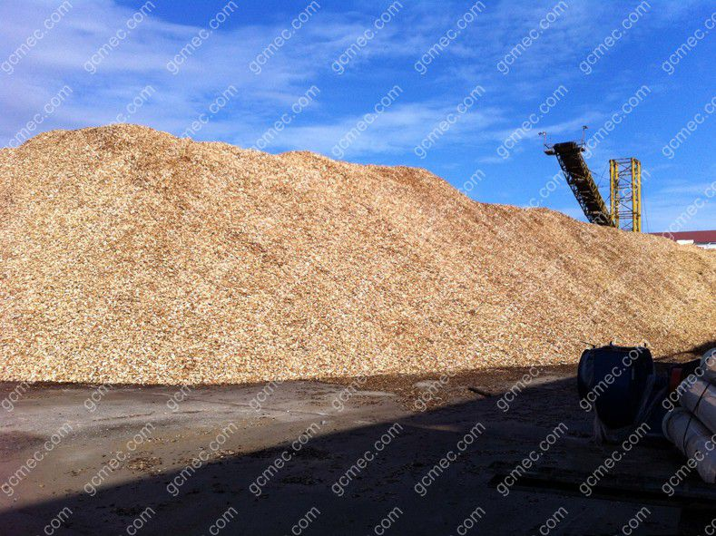 wood chips for pelleting