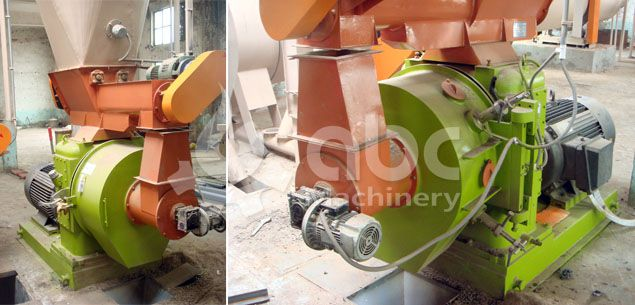 wood pellet processing machine for large sized production line
