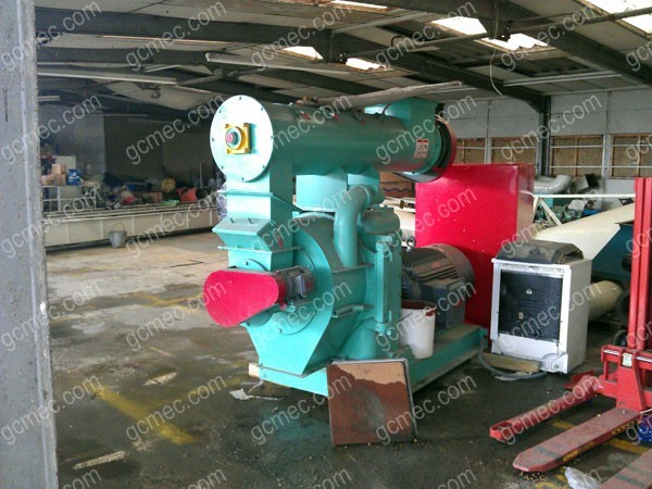 wood chip pellet mill