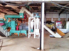 Wood Chip Pellet Production Line in UK