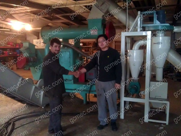wood pelleting project